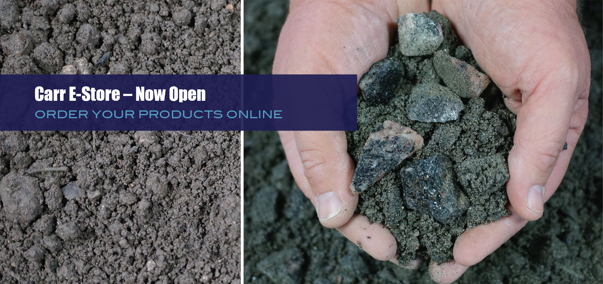 Carr E- Store - Now Open, Order Your Products Online at Carr Aggregates.